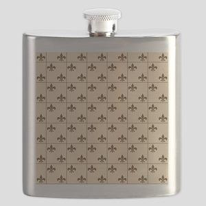 Fleur De Lis Flask
