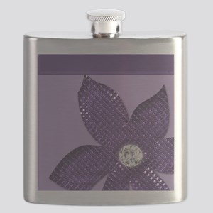 Flower and diamond Flask