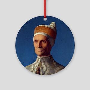 Portrait of Doge Leonardo Loredan Round Ornament