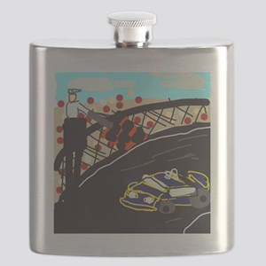Race Car Flask
