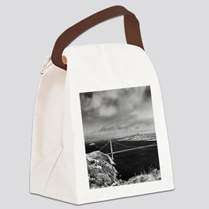 GG Bridge from Hawk Hill Canvas Lunch Bag