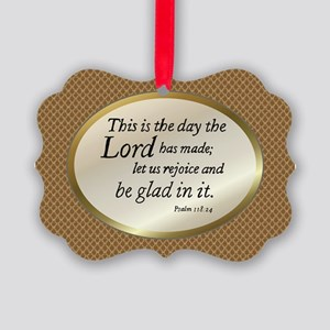 Psalms118 Ornament