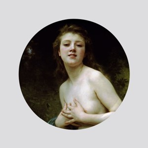 "William-Adolphe Bouguereau 3.5"" Button"