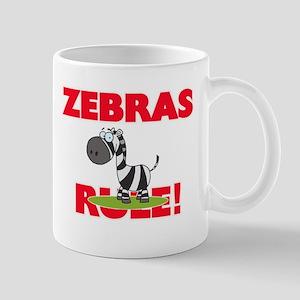 Zebras Rule! Mugs