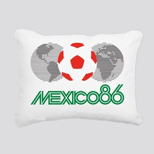 Mexico 86 Rectangular Canvas Pillow