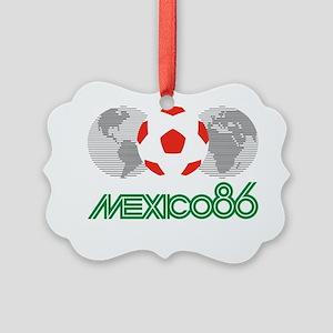 Mexico 86 Picture Ornament