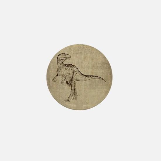 Vintage Tyrannosaurus Mini Button