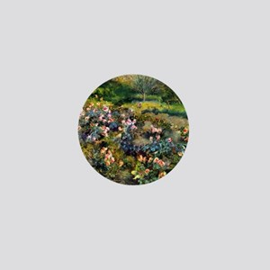 Pierre-Auguste Renoir Rose Grove Mini Button
