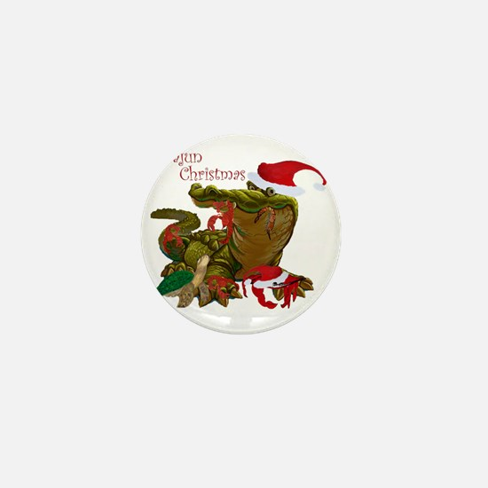 Cajun Christmas Apparel Mini Button