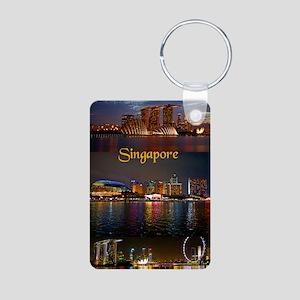 Singapore_2.41x4.42_iPhone Aluminum Photo Keychain