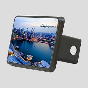 Singapore_5x3rect_sticker_ Rectangular Hitch Cover