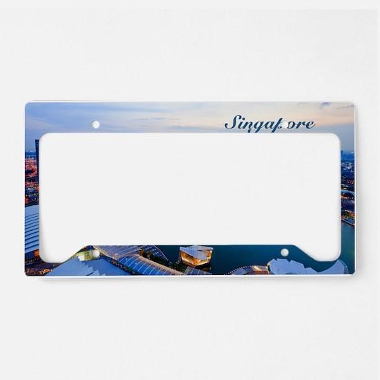 Singapore_5x3rect_sticker_Sky License Plate Holder