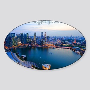 Singapore_4.25x5.5_NoteCards_Skylin Sticker (Oval)