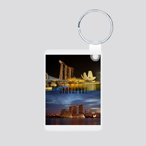 Singapore_7.355x9.45_iPad  Aluminum Photo Keychain
