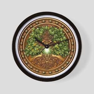 Celtic Sacred Trees - Oak Wall Clock
