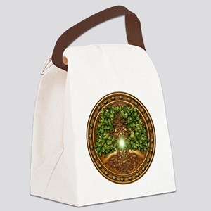 Celtic Sacred Trees - Oak Canvas Lunch Bag