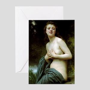 William-Adolphe Bouguereau Greeting Card