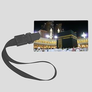 Kaaba Sharif Large Luggage Tag