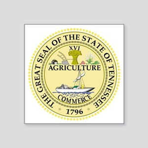 """Tennessee State Seal Square Sticker 3"""" x 3"""""""