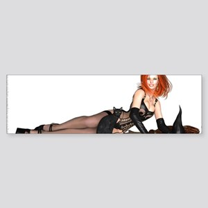 PinUp Mug - Witchy Hazel Sticker (Bumper)