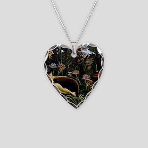 Henri Rousseau The Dream Necklace Heart Charm