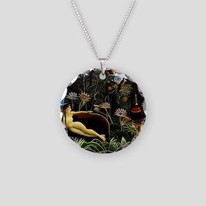 Henri Rousseau The Dream Necklace Circle Charm