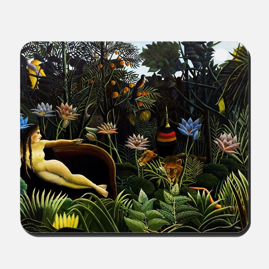 Henri Rousseau The Dream. Mousepad