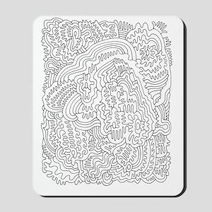 Doodle 1 Mousepad