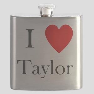 i love taylor heart Flask