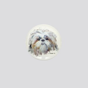 Shih Tzu Mini Button