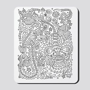 Doodle #9 Mousepad
