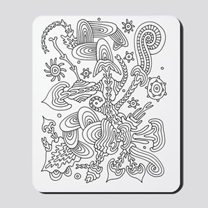 Doodle #14 Mousepad