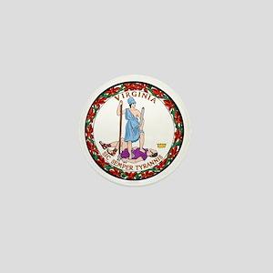 Virginia State Seal Mini Button