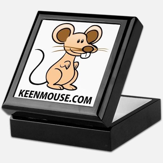 Plush Bunny Keen Mouse Mascot Keepsake Box