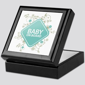 Baby on Board - Boy Keepsake Box