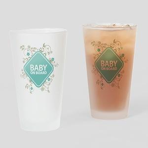 Baby on Board - Boy Drinking Glass