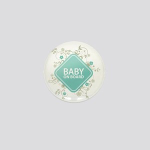 Baby on Board - Boy Mini Button