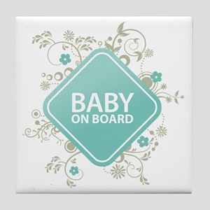 Baby on Board - Boy Tile Coaster