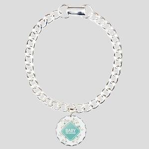 Baby on Board - Boy Charm Bracelet, One Charm