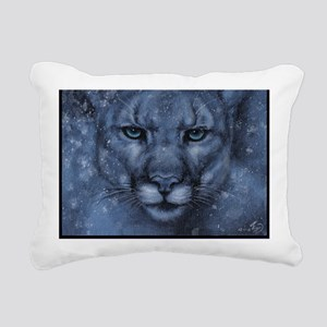 Ghost in the Storm Rectangular Canvas Pillow