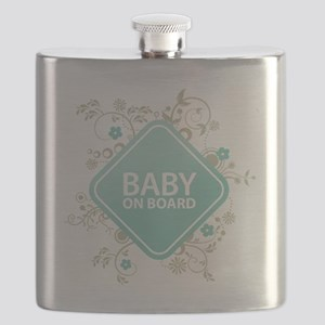 Baby on Board - Boy Flask