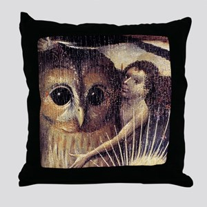 Hieronymus Bosch Throw Pillow