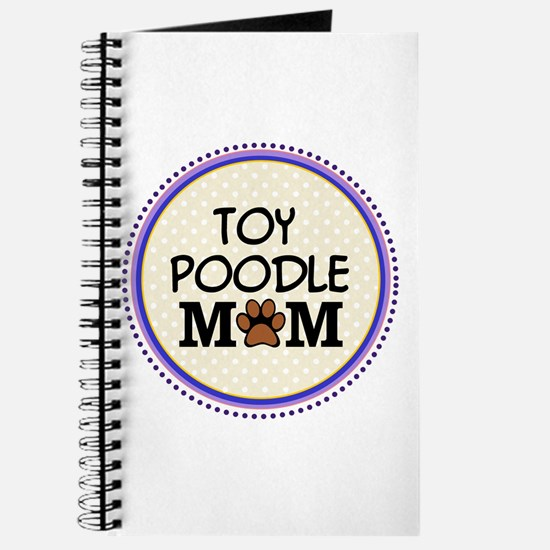 Toy Poodle Dog Mom Journal