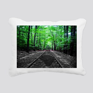 Ghostly Walk Rectangular Canvas Pillow