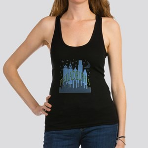 Philly Skyline cool Racerback Tank Top