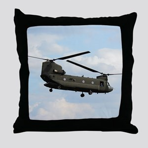 Tote7x7_Chinook_4 Throw Pillow