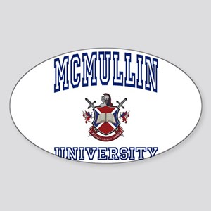 MCMULLIN University Oval Sticker