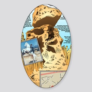 LONE RANGER ROCK Sticker (Oval)