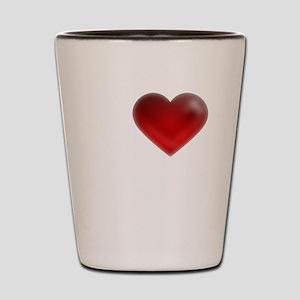 I Heart Mykonos Shot Glass