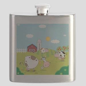 Farm Animals Flask